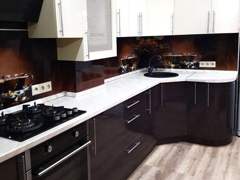 Кухня контрастный цвет на заказ